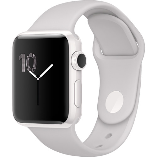 Apple Watch Edition Series 2 38mm Smartwatch (White Ceramic Case, Cloud Sport Band)