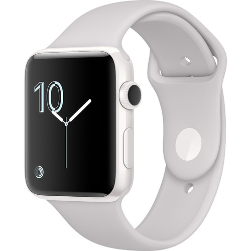 Apple Watch Edition Series 2 42mm Smartwatch (White Ceramic Case, Cloud Sport Band)