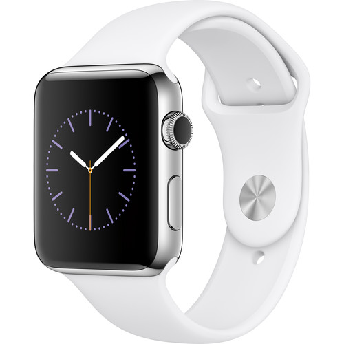 Apple Watch Series 2 42mm Smartwatch MNPR2LL/A B&H Photo Video