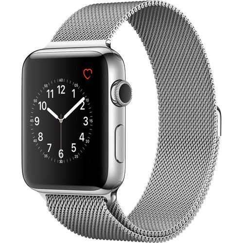 Apple Watch Series 2 42mm Smartwatch ( Stainless Steel Case, Milanese Loop Band)