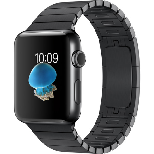 Apple Watch Series 2 42mm Smartwatch (Space Black Stainless Steel Case, Space Black Link Band)