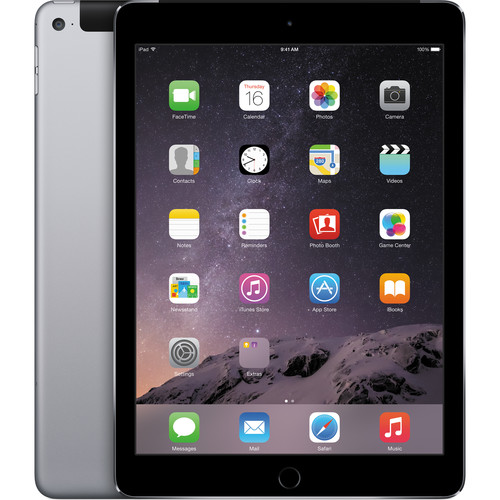 Apple 32GB iPad Air 2 (Wi-Fi + 4G LTE, Space Gray)