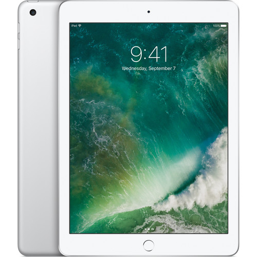 """Apple 9.7"""" iPad (2017, 128GB, Wi-Fi Only, Silver)"""