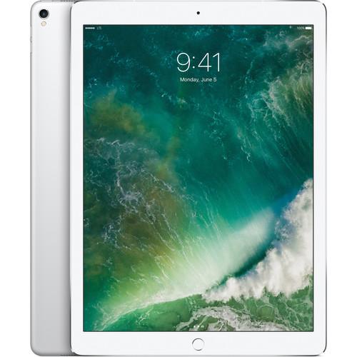 """Apple 12.9"""" iPad Pro (Mid 2017, 256GB, Wi-Fi + 4G LTE, Silver)"""