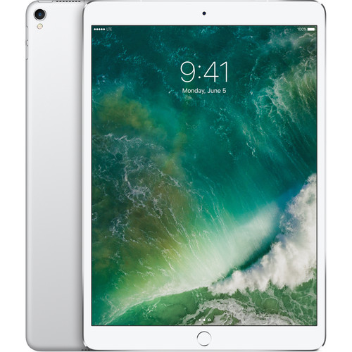 "Apple 10.5"" iPad Pro (256GB, Wi-Fi + 4G LTE, Silver)"