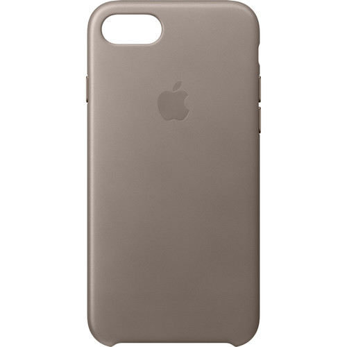 Apple iPhone 7 Leather Case (Taupe)