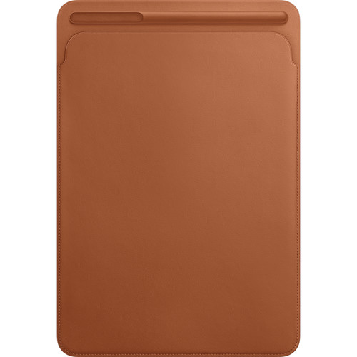 """Apple Leather Sleeve for 10.5"""" iPad Pro (Saddle Brown)"""