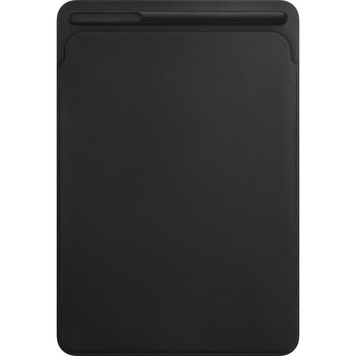 """Apple Leather Sleeve for 10.5"""" iPad Pro (Black)"""