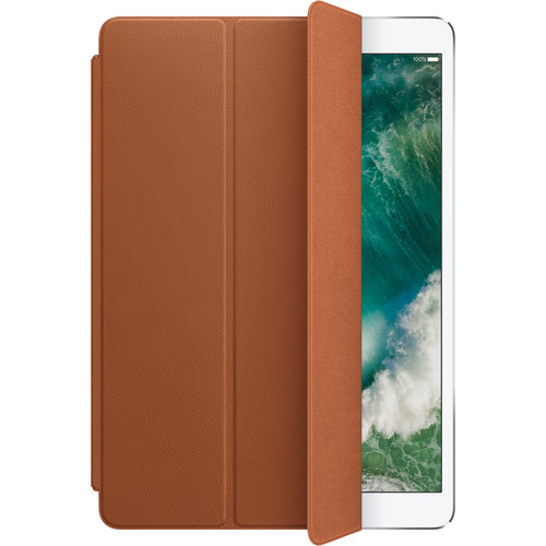 """Apple Leather Smart Cover for 10.5"""" iPad Pro (Saddle Brown)"""