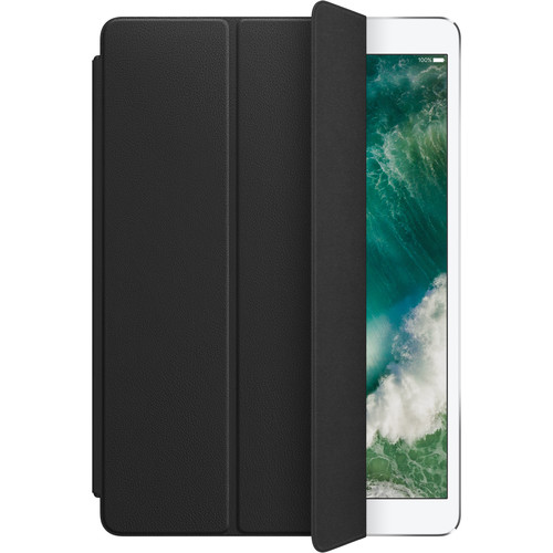 """Apple Leather Smart Cover for 10.5"""" iPad Pro (Black)"""