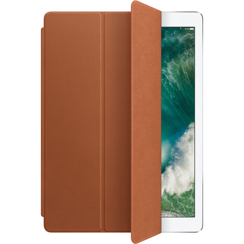 """Apple Leather Smart Cover for 12.9"""" iPad Pro (Saddle Brown)"""