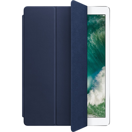 "Apple Leather Smart Cover for 12.9"" iPad Pro (Midnight Blue)"