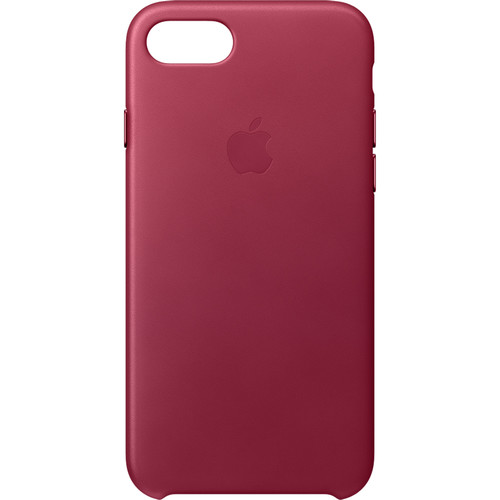 Apple iPhone 7 Leather Case (Berry)