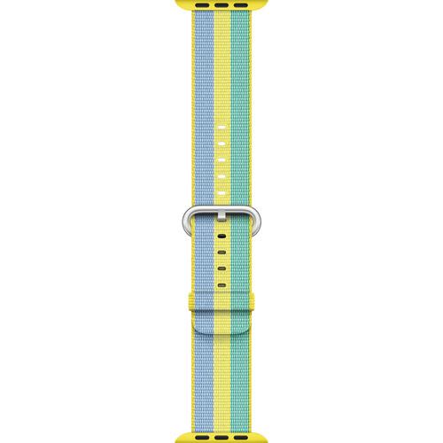 Apple Watch Woven Nylon Band (42mm, Pollen)
