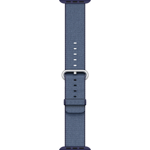 Apple Watch Woven Nylon Band (42mm, Midnight Blue)