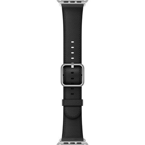 Apple Watch Classic Buckle Band (42mm, Black)