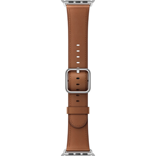 Apple Watch Classic Buckle Band (42mm, Saddle Brown)