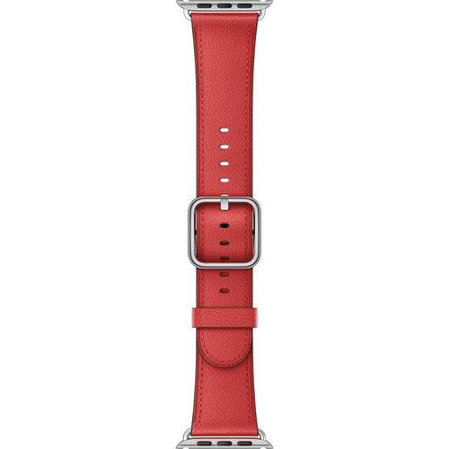 Apple Watch Classic Buckle Band (42mm, Red)