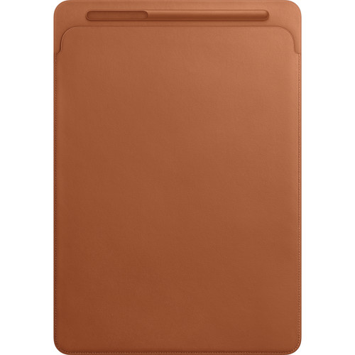 "Apple Leather Sleeve for 12.9"" iPad Pro (Saddle Brown)"