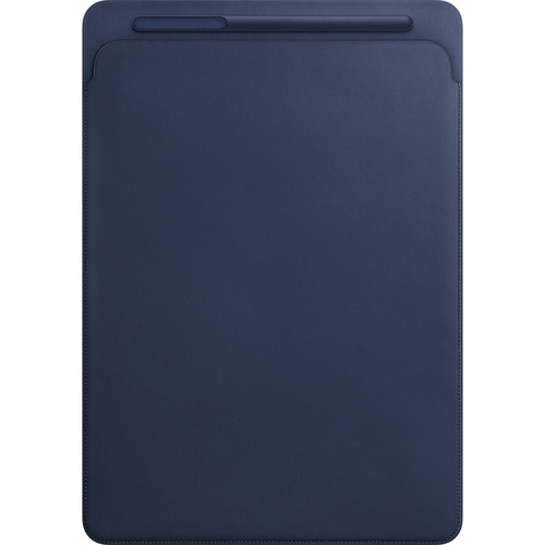 "Apple Leather Sleeve for 12.9"" iPad Pro (Midnight Blue)"