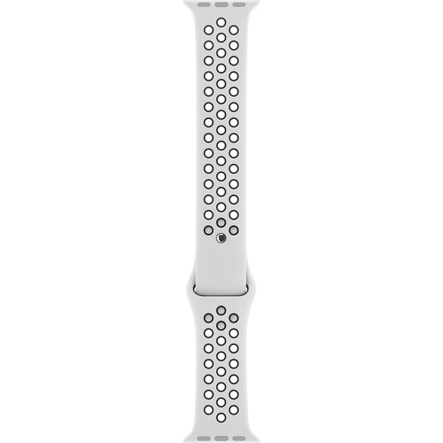 Apple Nike Sport Band for Apple Watch (Pure Platinum, 38mm, S-L)