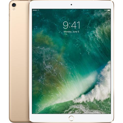 """Apple 10.5"""" iPad Pro (64GB, Wi-Fi + 4G LTE, Gold)"""