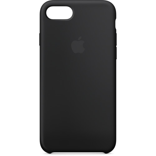 Apple iPhone 7/8 Silicone Case (Black)