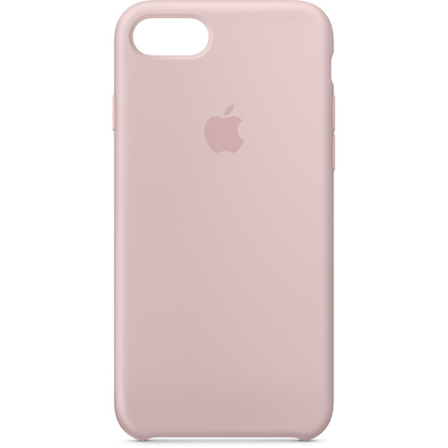 Apple iPhone 8/7 Silicone Case (Pink Sand)