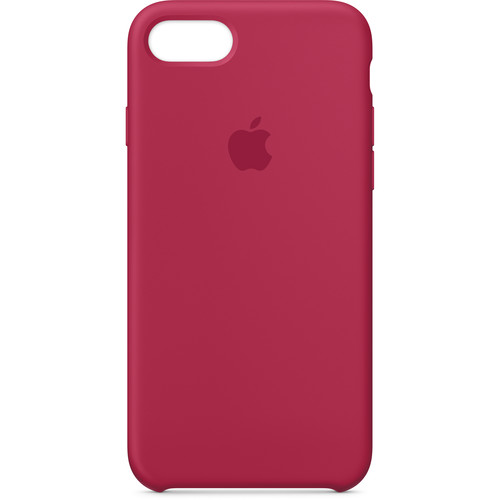 Apple iPhone 7/8 Silicone Case (Rose Red)