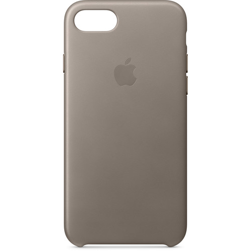 Apple iPhone 8/7 Leather Case (Taupe)