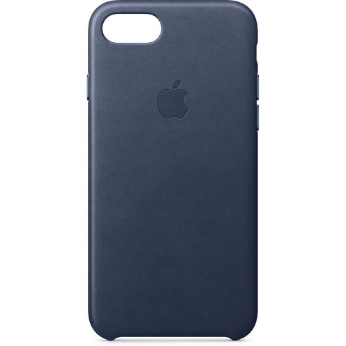 Apple iPhone 8/7 Leather Case (Midnight Blue)