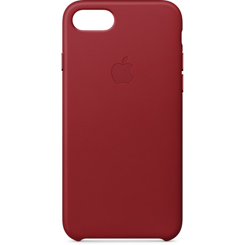 Apple iPhone 8/7 Leather Case ((PRODUCT)RED)