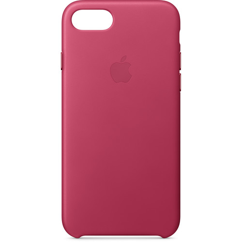 Apple iPhone 8/7 Leather Case (Pink Fuchsia)