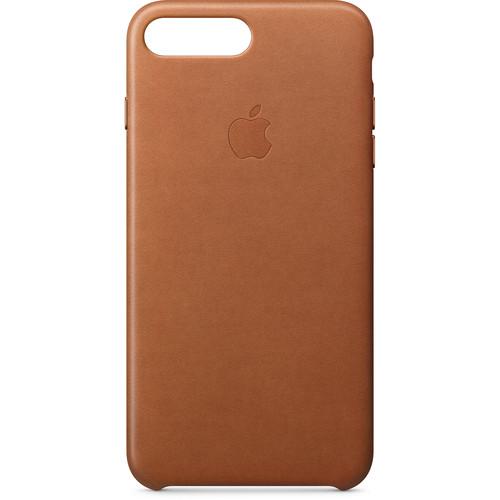 Apple iPhone 8 Plus/7 Plus Leather Case (Saddle Brown)