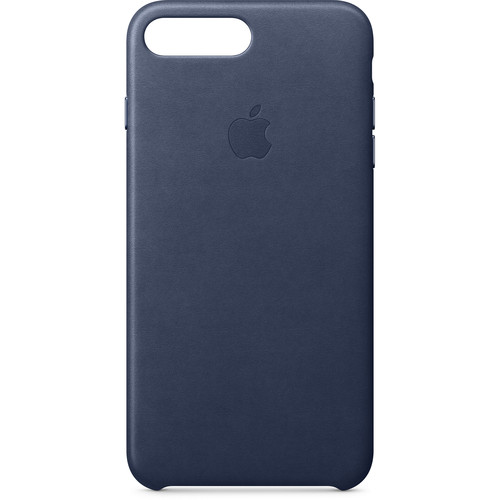 Apple iPhone 8 Plus/7 Plus Leather Case (Midnight Blue)
