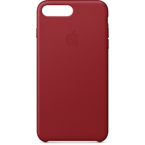 Apple iPhone 8 Plus/7 Plus Leather Case ((PRODUCT)RED)