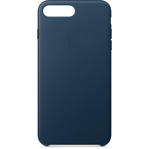 Apple iPhone 8 Plus/7 Plus Leather Case (Cosmos Blue)