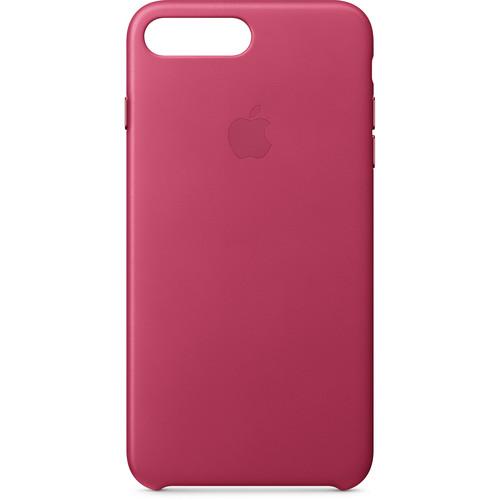 Apple iPhone 8 Plus/7 Plus Leather Case (Pink Fuchsia)