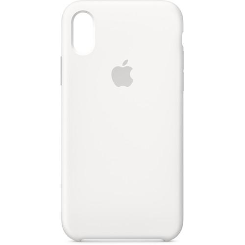 Apple iPhone X Silicone Case (White)