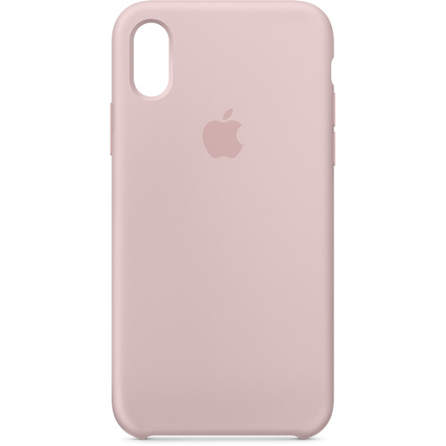 Apple iPhone X Silicone Case (Pink Sand)