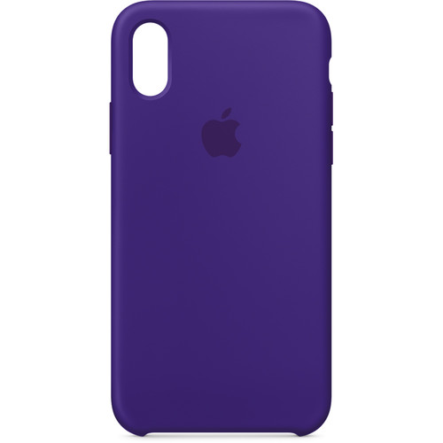 Apple iPhone X Silicone Case (Ultra Violet)
