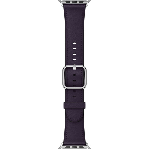 Apple Watch Classic Buckle Band (38mm, Dark Aubergine)
