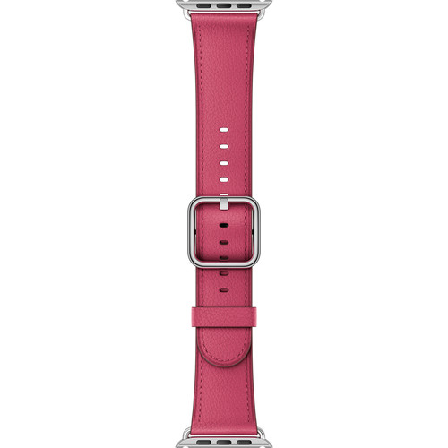 Apple Watch Classic Buckle Band (42mm, Pink Fuchsia)