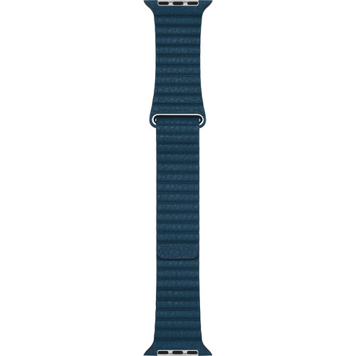 Apple Apple Watch Leather Loop (42mm, Cosmos Blue, Large)