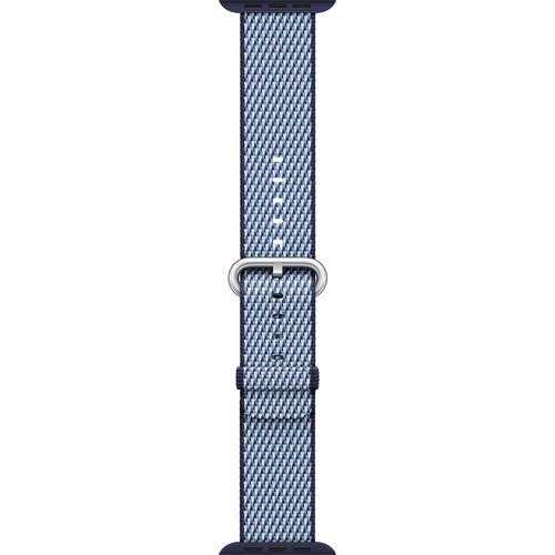 Apple Watch Woven Nylon Band (38mm, Midnight Blue Check)