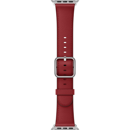 Apple Watch Classic Buckle Band (38mm, Ruby (PRODUCT)RED)