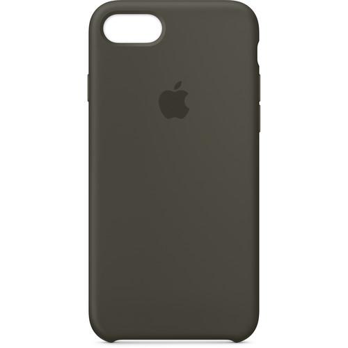 Apple iPhone 7/8 Silicone Case (Dark Olive)