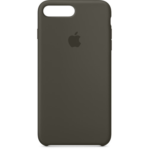 Apple iPhone 8 Plus/7 Plus Silicone Case (Dark Olive)