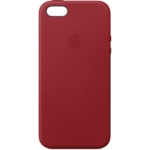 Apple iPhone SE Leather Case ((PRODUCT)RED)