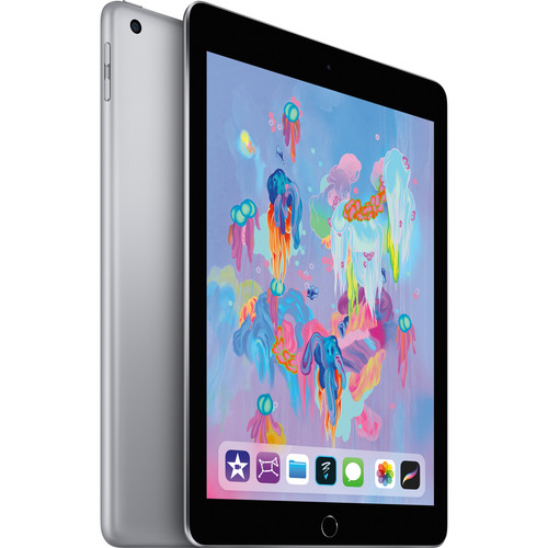 """Apple 9.7"""" iPad (Early 2018, 128GB, Wi-Fi Only, Space Gray)"""